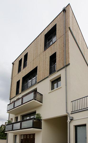 Surélévation d'un immeuble à Nois-le-sec